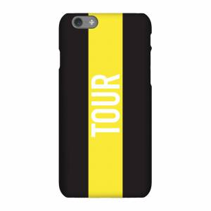 Broom Wagon Race Brief 2018 Tour Phone Case for iPhone and Android - iPhone 6 Plus - Tough Case - Gloss