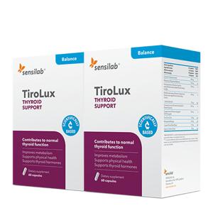 Sensilab TiroLux zur Unterstützung der Schilddrüse, 2x 30 Kapseln