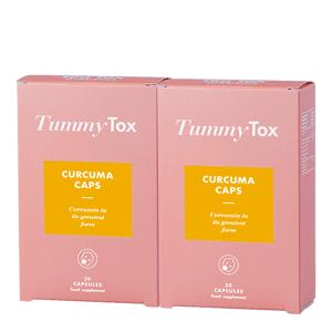 TummyTox Kurkuma-Kapseln: 1+1 GRATIS - Kurkuma-Kapseln mit dem wirkungsvollsten Kurkumin - Novasol! 2x 30 Kapseln   TummyTox