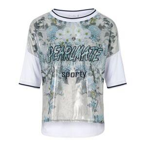 Sportalm Rundhals-Shirt  mehrfarbig Größe: 38 Damen Kunstfaser