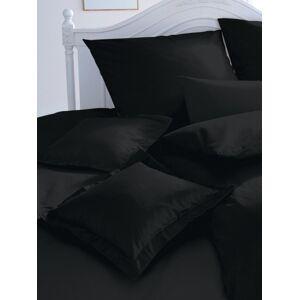 Curt Bauer Kissenbezug ca. 40x40cm  schwarz Größe:  Wohnen Baumwolle