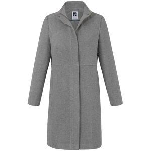 Anna Aura Mantel  grau Größe: 50 Damen Wolle