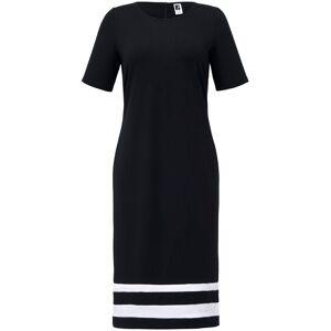 Anna Aura Jersey-Kleid 1/2-Arm  schwarz Größe: 56 Damen Baumwolle