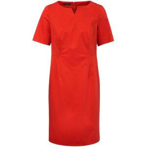 Basler Kleid mit 1/2-Arm  rot Größe: 46 Damen Baumwolle