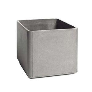 Eternit - Delta Pflanzgefäß 45 x 45 x 45 cm, grau
