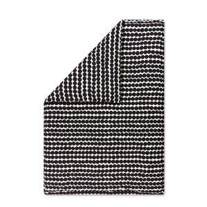 Marimekko - Räsymatto Deckenbezug, 140 x 200 cm, schwarz / weiß