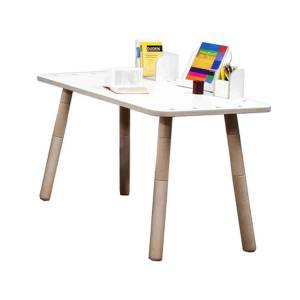 Pure Position - Growing Table Tisch, HPL weiß