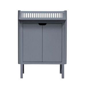 Sebra - Wickelkommode mit Türen, classic grey
