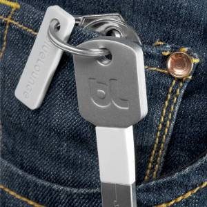 Bluelounge - Kii USB-Adapter (Lightning connector), schwarz