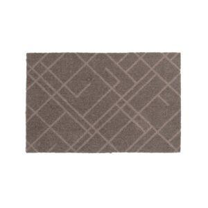 tica copenhagen - Lines Fußmatte, 40 x 60 cm, sand / beige