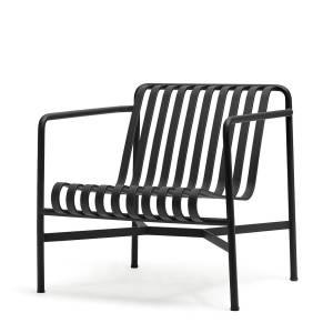 HAY - Palissade Lounge Chair Low, anthrazit