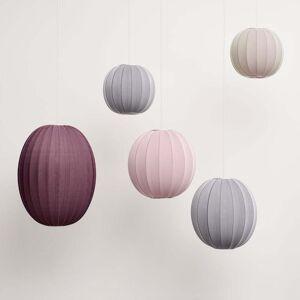 Made by Hand - Knit-Wit Pendelleuchte Ø 45 cm, light pink