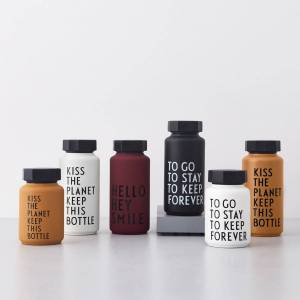 Design Letters - AJ Thermosflasche Hot & Cold 0,5 l, To Go To Stay To Keep Forever / grün (Sonderedition)