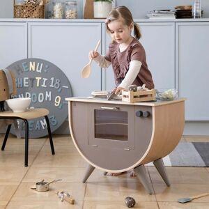 Sebra - Kinder Spielküche, warm grey