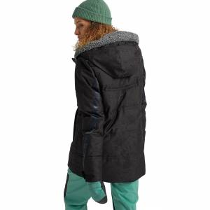Burton Jacket Burton Wms Larosa Puffy true black