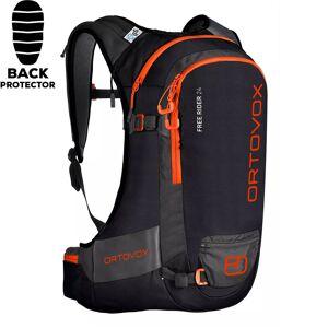 Ortovox Snowboard backpack Ortovox Free Rider 24 black raven