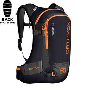 Ortovox Snowboard backpack Ortovox Free Rider 26 L black raven 26L