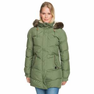 Roxy Street jacket Roxy Ellie Plus bronze green
