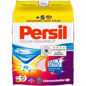 Persil 5 Packungen (18 WL) Persil Color Megaperls
