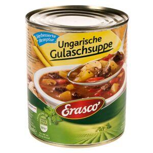 Erasco 6 x 770 ml Erasco Ungarische Gulaschsuppe