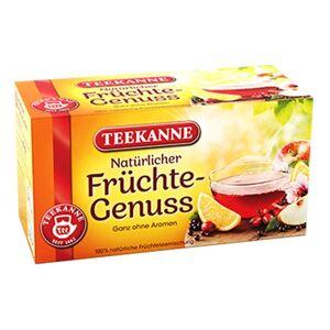 Teekanne 3 x 20 Beutel Teekanne Früchte Genuss