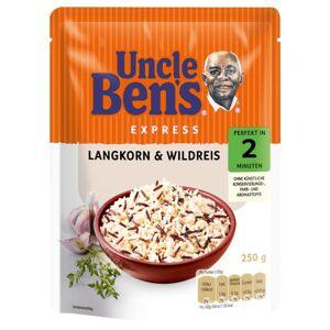 Uncle Bens 3 x 250 g Uncle Bens Reis Langkorn und Wildreis