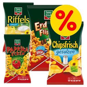Funny Frisch 4 x Funny Frisch Chips (4 Sorten gemsicht)