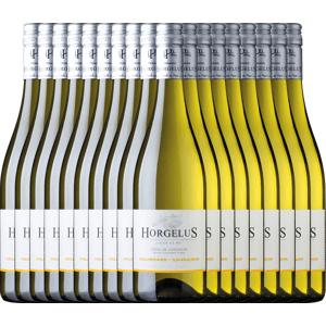 Domaine Horgelus 18er Vorteils-Weinpaket - Horgelus Blanc 2019 - Domaine Horgelus Weißwein, Weinpaket trocken aus Frankreich Sud Ouest / Südwesten Côtes de Gascogne