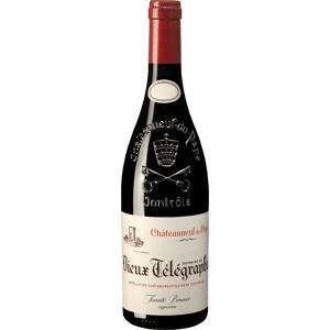 Vignobles Brunier Châteauneuf-du-Pape Rouge AOC 2016 - Vieux Télégraphe Rotwein trocken aus Frankreich Südliches Rhône-Tal Châteauneuf-du-Pape