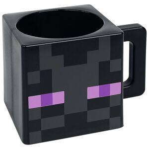 Minecraft Enderman Tasse-schwarz - Offizieller & Lizenzierter Fanartikel Onesize       Unisex