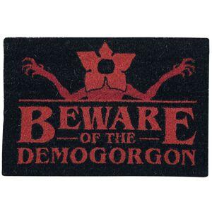 Stranger Things Beware Of The Fußmatte-Mehrfarbig - Offizieller & Lizenzierter Fanartikel