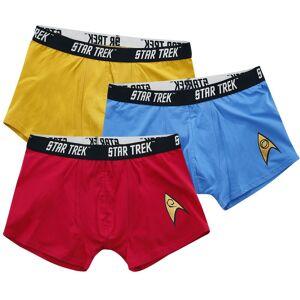 Star Trek Commander Herren-Boxershort-Set  - Offizieller & Lizenzierter Fanartikel S, M, L, XL, XXL, 3XL       Herren