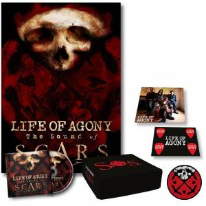 Life Of Agony The sound of scars CD-multicolor Onesize       Unisex
