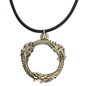 The Elder Scrolls Ouroboros Logo Halskette-multicolor - Offizieller & Lizenzierter Fanartikel Onesize       Unisex