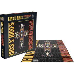 Guns N' Roses Appetite for Puzzle-multicolor - Offizielles Merchandise Onesize       Unisex