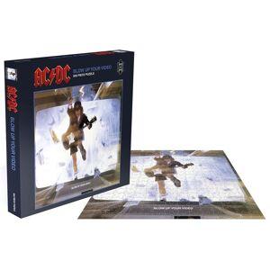 AC/DC Blow Up Your Video Puzzle-multicolor - Offizielles Merchandise Onesize       Unisex