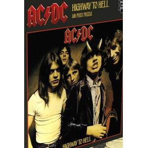 AC/DC Highway to hell Puzzle-multicolor - Offizielles Merchandise Onesize       Unisex