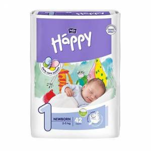 TZMO Bella Happy Newborn, 42 Stück