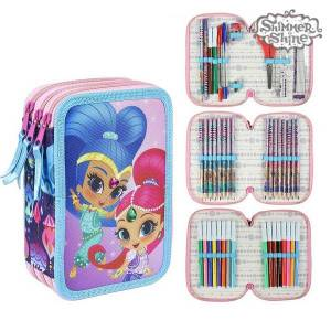 Shimmer and Shine Dreifaches Federmäppchen Shimmer and Shine 78711