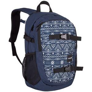 Chiemsee Backpack School ikat blue