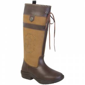 HV Polo Outdoorstiefel Country Boots brown-cognac
