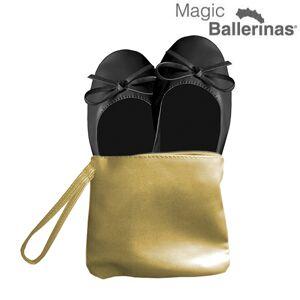 InnovaGoods Magic Ballerinas Magic Schläppchen Ballerinas Schwarz