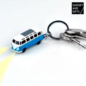 BigBuy Accessories VW-Bulli-Schlüsselanhänger mit LED-Licht