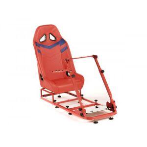 FK-Automotive FK Gamesitz Spielsitz Rennsimulator eGaming Seats Monza rot/blau