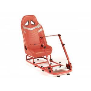 FK-Automotive FK Gamesitz Spielsitz Rennsimulator eGaming Seats Monza rot/silber