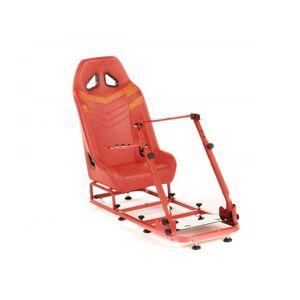 FK-Automotive FK Gamesitz Spielsitz Rennsimulator eGaming Seats Monza rot/orange