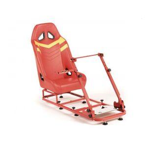 FK-Automotive FK Gamesitz Spielsitz Rennsimulator eGaming Seats Monza rot/gelb