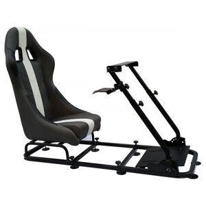 FK-Automotive FK Gamesitz Spielsitz Rennsimulator eGaming Seats Interlagos grau/weiß
