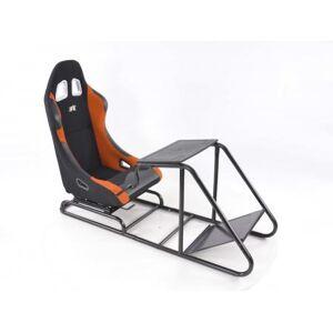 FK-Automotive FK Gamesitz Spielsitz Rennsimulator eGaming Seats Estoril schwarz/orange
