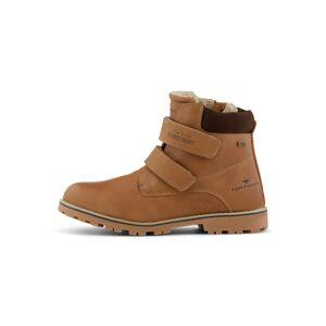 TOM TAILOR Boots mit Klettverschluss,  camel, Größe: 39